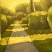 Sunny Sidewalk Art Print