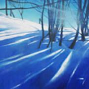 Sunny Traintrip To Hamar Art Print