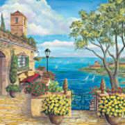 Sunny Villa Art Print