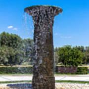 Sunnylands Fountain 2 Art Print