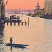 Sunrise - Venice Art Print
