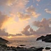 Sunrise At Cockroach Cove Art Print