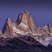 Sunrise At Fitz Roy Patagonia 8 Art Print