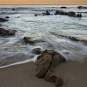 Sunrise At Laguna Beach Art Print