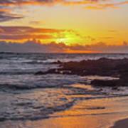 Sunrise At Makapu'u Art Print