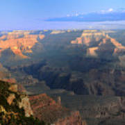Sunrise At Mather Point  --  Grand Canyon  Art Print