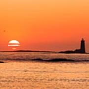 Sunrise At Odiorne Point 1 Art Print