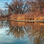 Sunrise At River Bend Ponds Art Print