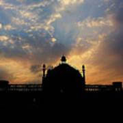 Sunrise At Rumi Gate Art Print