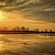 Sunrise At The Big Marsh Art Print