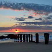 Sunrise At The Jersey Shore Art Print