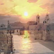 Sunrise Bethlehem Art Print