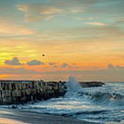 Sunrise California Coast Art Print