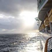 Sunrise Cruise Art Print