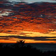 Sunrise Drama By The Sea Art Print