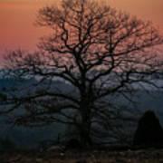 Sunrise From Bolton Ma Art Print