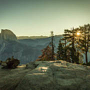 Sunrise Glacier Point Art Print