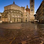 Sunrise In Florence 2 Art Print