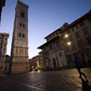 Sunrise In Florence 3 Art Print