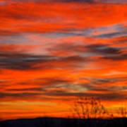 Sunrise In Ithaca Art Print by Paul Ge