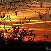Sunrise In Tennessee Art Print