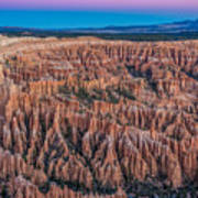 Sunrise Light On Bryce Canyon Art Print
