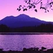 Sunrise On Lake Shasta Art Print