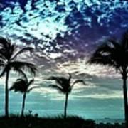 Sunrise On Miami Beach Art Print