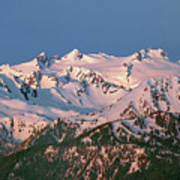 1m4120-sunrise On Mt. Olympus  Art Print