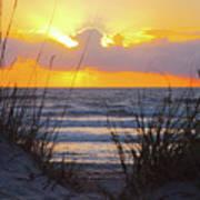 Sunrise On The Atlantic Art Print