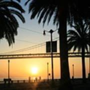 Sunrise On The Bay Art Print