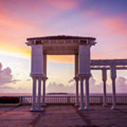 Sunrise On The Caribbean Art Print
