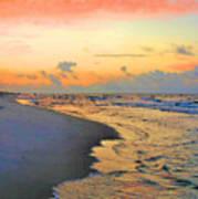 Sunrise On The Gulf Art Print