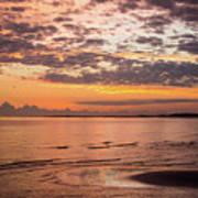 Sunrise On The Shore  Art Print