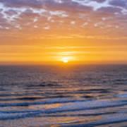 Sunrise Over Atlantic Ocean Art Print