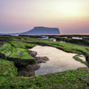 Sunrise Over Jeju Island Art Print