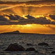 Sunrise Over Rabbit Head Island Art Print