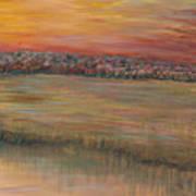 Sunrise Over The Marsh Part II Art Print
