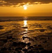 Sunrise Over The Sea Art Print