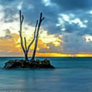 Sunrise Punta Cana #2 Art Print