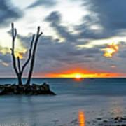 Sunrise Punta Cana Art Print
