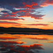 Sunrise Refection Art Print