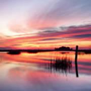 Sunrise Sunset Art Photo - Sailing By Jo Ann Tomaselli    Art Print