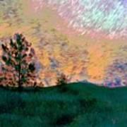 Sunrise-sunset Art Print