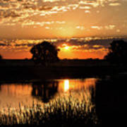 Sunrise's Crepuscular Rays Art Print