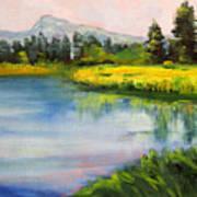Sunriver Art Print