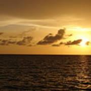 Sunset - Gulf Of Mexico Art Print