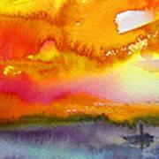 Sunset 02 Art Print