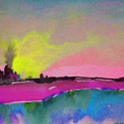 Sunset 09 Art Print