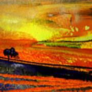 Sunset 15 Art Print